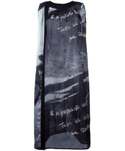 Yohji Yamamoto Vintage | Printed Sleeveless Dress Womens Size Small