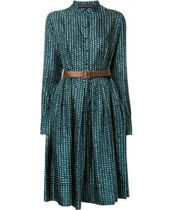 Martin Grant | Printed Buttoned Dress Womens Size 40 Cotton/Silk