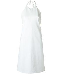 Andrea Marques | Panelled Midi Dress Womens Size 40 Cotton/Spandex/Elastane