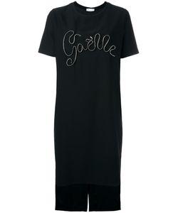Gaelle Bonheur   Zip Detail T-Shirt Dress Womens Size 2 Polyester