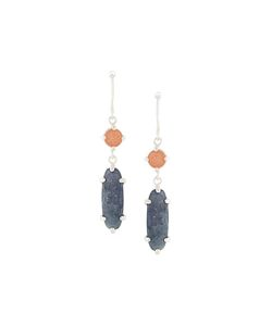 Wouters & Hendrix | My Favourite Sunstone And Iolite Earrings Womens