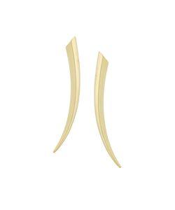 Shaun Leane | 18kt Yellow Gold Sabre Earrings Womens