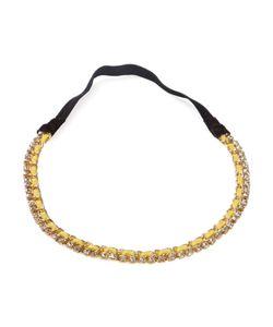 Serpui | Embellished Headband Womens Leather