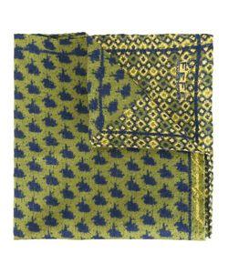 Fefè   Printed Pocket Square Adult Unisex Silk