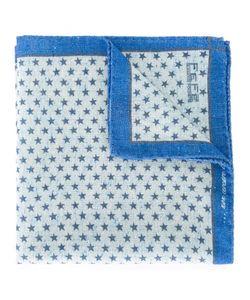 Fefè   Micro Star Pocket Square Adult Unisex Wool/Silk