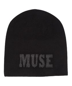 Warm-Me | Muse Embellished Beanie Womens Cashmere