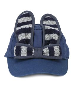 Bernstock Speirs | Striped Bunny Cap Womens Cotton