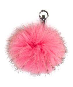 N.Peal | Fur Keyring Womens Racoon Fur