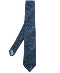 Al Duca D'Aosta | 1902 Multi Print Neck Tie Mens Wool
