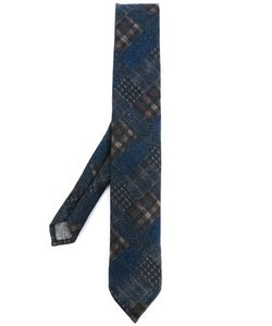 Al Duca D'Aosta | 1902 Plaid Neck Tie Mens Wool