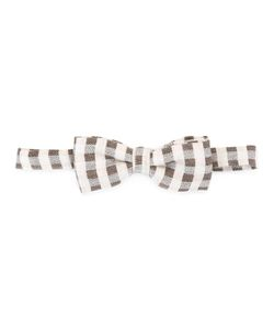 Fefè   Checked Bow Tie Adult Unisex Wool