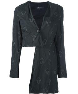 Area Di Barbara Bologna | Cross Print Jacket Womens Size 40