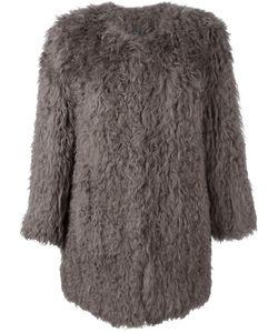 Ravn | Classic Fur Coat Womens Size 34 Lamb Fur