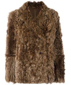 Meteo By Yves Salomon   Classic Fur Jacket Womens Size 36