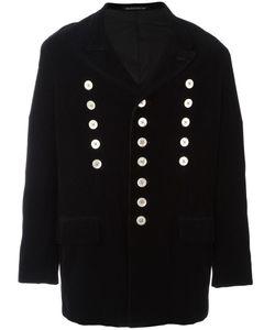 Yohji Yamamoto Vintage | Corduroy Double Breasted Coat Mens Size Small