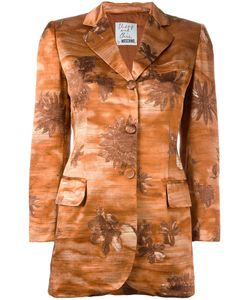 Moschino Vintage | Flower Patterened Jacket Womens Size 40