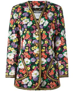 Moschino Vintage | Couture Floral Jacket Womens Size 44
