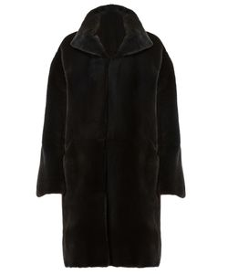 32 Paradis Sprung Frères | Reversible Coat Womens Size Small Mink
