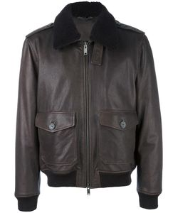Desa Collection | Zipped Jacket Mens Size 52 Leather/Viscose
