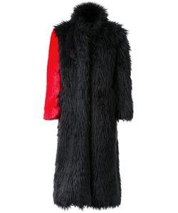 99 Is | 99 Is Fur Effect Contrast Sleeve Coat Mens Size 2