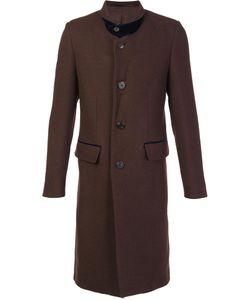 Umit Benan | Notched Lapel Mid Coat Mens Size 52 Virgin