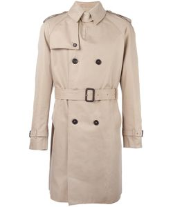 Mackintosh | Double Breasted Trench Coat Mens Size 44 Cotton/Cupro/Wool