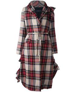 Area Di Barbara Bologna | Oversize Tied Waist Coat Womens Size 40
