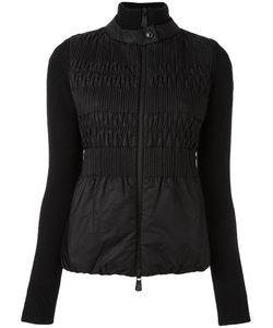 Moncler Grenoble | Zipped Fitted Jacket Womens Size Medium Polyamide/Virgin Wool/Polyester