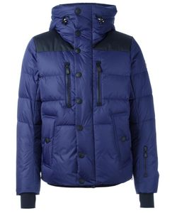 Moncler Grenoble | Buttoned Hooded Jacket Mens Size 2 Polyamide/Feather Down