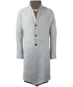 Individual Sentiments   Double Lapel Coat Adult Unisex Size 1 Wool/Mohair/Silk/Polyurethane