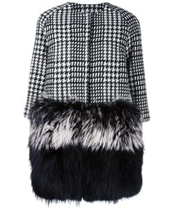 Ava Adore | Peony Coat Womens Size 40 Wool/Polyester/Acrylic/Raccoon Dog