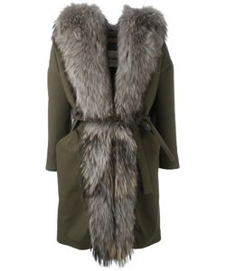 Ava Adore | Mimosa Coat Womens Size 40 Cotton/Polyester/Raccoon Dog/Acrylic