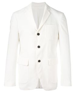 Wooster + Lardini | Flap Pockets Blazer Mens Size 48 Cotton/Spandex/Elastane/Polyester