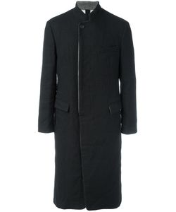 Forme D'expression | Prussian Long Coat Mens Size 48 Wool/Linen/Flax/Cotton/Viscose