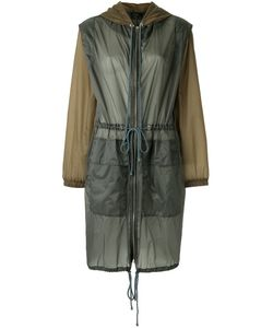 Andrea Marques | Hooded Bomber Jacket Womens Size 44 Polyamide