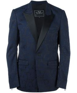 Unconditional | Brocade Tuxedo Jacket Mens Size Small Silk/Polyester/Tencel
