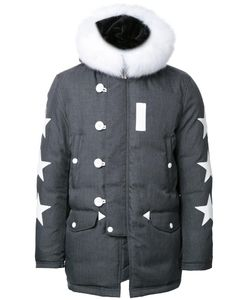 Education From Youngmachines | Padded Hooded Jacket Mens Size 3 Polyester