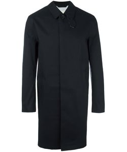 Mackintosh | Concealed Fastening Mid Coat Mens Size 44 Cotton