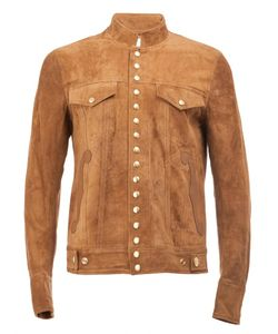 The Soloist | Snap Button Jacket Mens Size 52 Lamb Skin/Cashmere/Wool/Calf