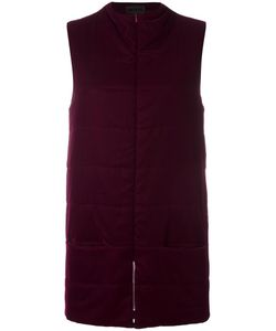 Paskal | Padded Gilet Womens Size Medium Silk