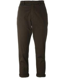 Hope   Cropped Trousers Womens Size 38 Cotton/Spandex/Elastane