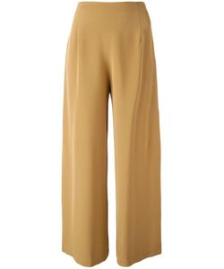 Catherine Quin | Super Wide Trousers Womens Size 6 Silk