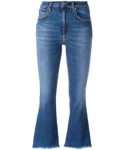 +People | Ingrid Cropped Jeans Womens Size 27 Cotton/Polyester/Spandex/Elastane
