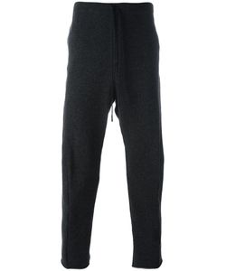 Forme D'expression | Slouchy Curved Track Pants Mens Size Large Cotton