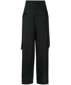 Kitx   Dropped Belt Palazzo Pants Womens Size 10 Linen/Flax/Tencel