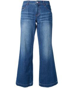 Guild Prime | Flared Cropped Jeans Womens Size 34 Cotton