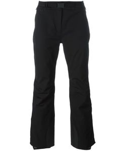Moncler Grenoble | Buckled Belt Flared Trousers Womens Size Medium Polyamide/Spandex/Elastane