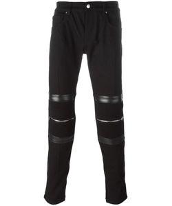 Les Hommes Urban   Zipped Detailing Trousers Mens Size 46 Cotton/Spandex/Elastane