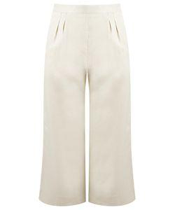 Andrea Marques | Linen Culottes Womens Size 38 Linen/Flax
