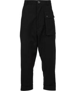 Wooster + Lardini | Flap Pocket Cropped Trousers Mens Size 46